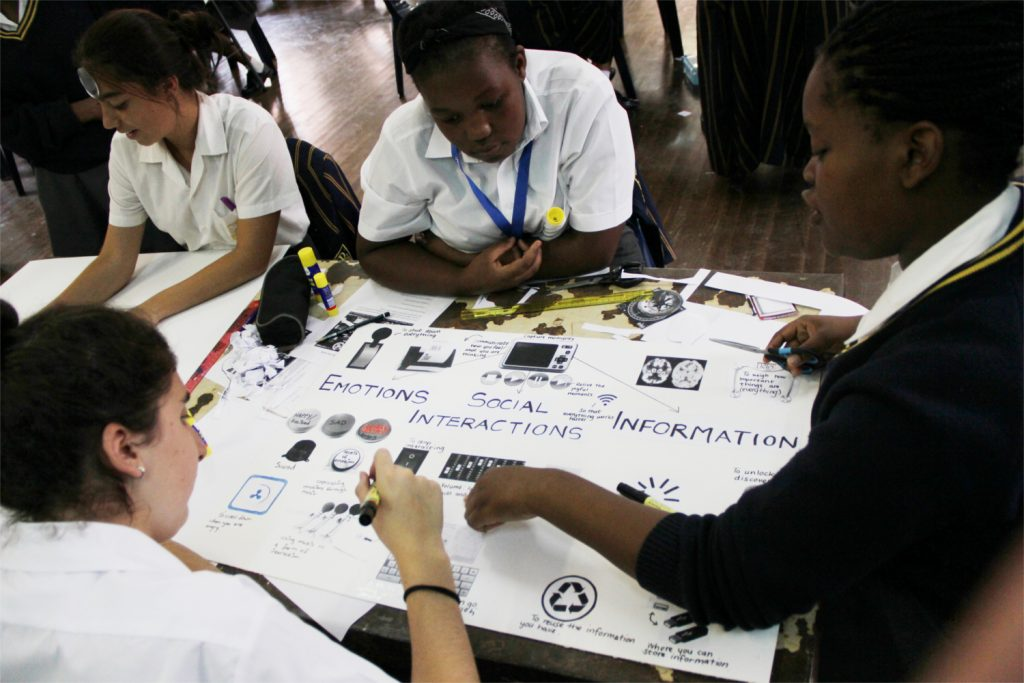 Learners explore their own mental life and practise metacognitive questioning by desinging a control panel of the mind